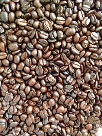 up: Brown coffee ,background texture ,close up