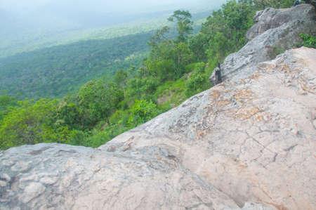hum: Pah Hum Hod Cliff in Chaiyaphum Province Northeast of Thailand