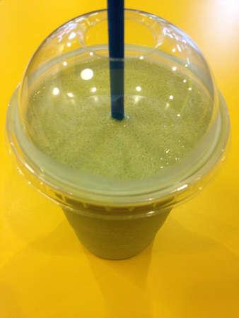frappe: Green tea frappe