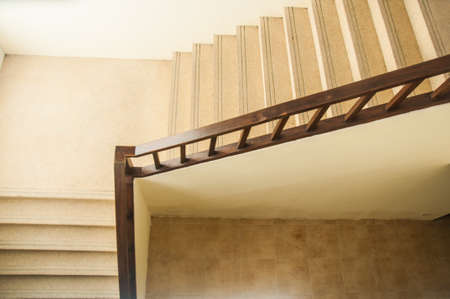 moresque: stone staircase at the hotel Stock Photo