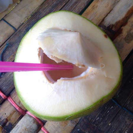 coconut drink: Fresh coconut drink
