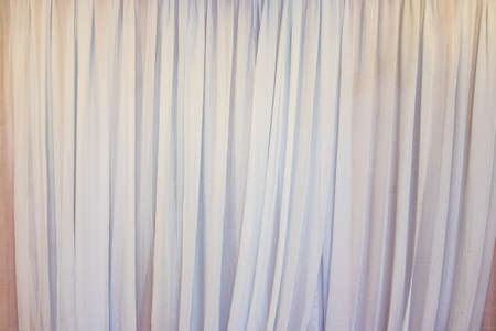 white curtains: white curtains background Stock Photo