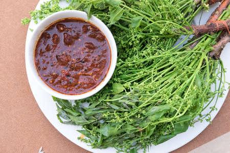 taste: neem leaf food plate taste bitter sauce