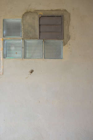 ventilate: Old air vent for air ventilate attached to the wall