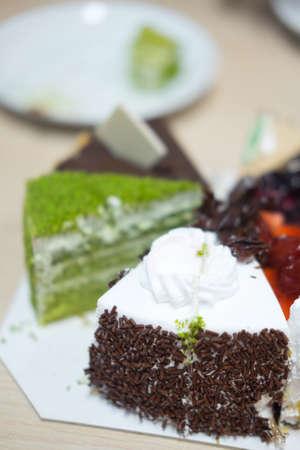 sweeties: Sweeties with various pieces of cake