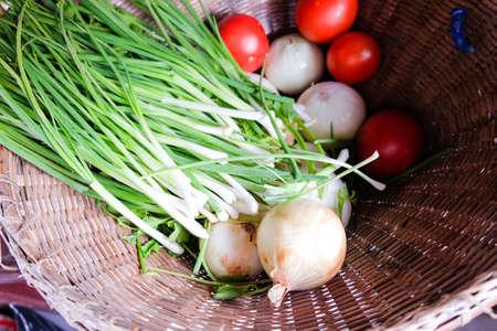 thai herb: Thai herb for good health in basket