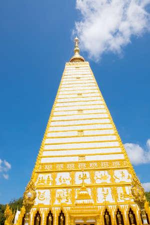 Wat Phrathat Nong Bua in Ubon Ratchathani province, Thailand Stock Photo