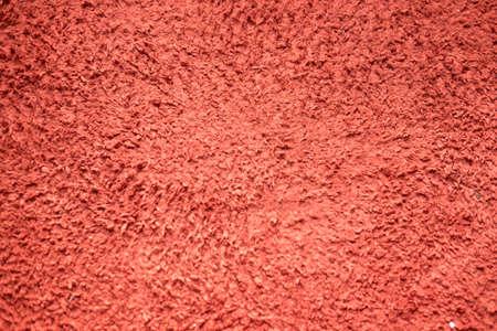 Rode tapijttextuur met korte vezel, Abstracte achtergrond en textuur voor ontwerpers Stockfoto