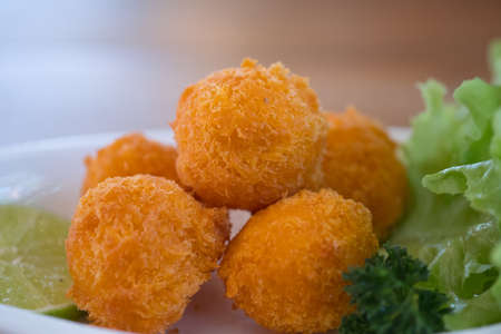 Cheese balls for catering at a corporate event gala dinner banquet