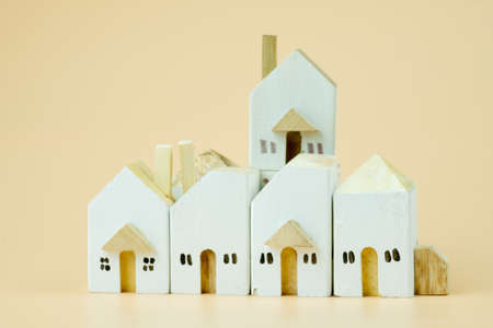 Wooden houses. The concept of real estate and ownership, the purchase and sale of property. Construction and improvement of buildings