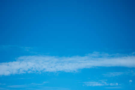 Blue sky and clouds with space for text