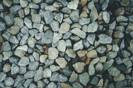 Small stone texture for background. Top view