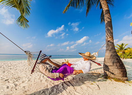 relaxing time in kuredu males on hammock with beach and sea   stock photo picture and royalty free image  image 58120251  relaxing time in kuredu males on hammock with beach and sea      rh   123rf
