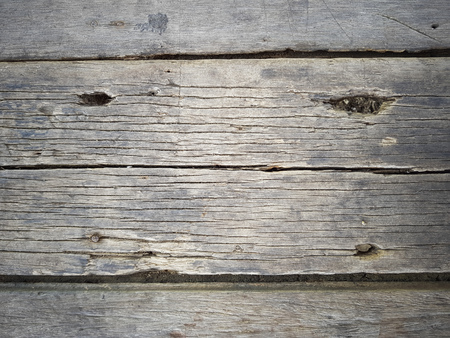 wooden background showing close up of old weathered wood planks