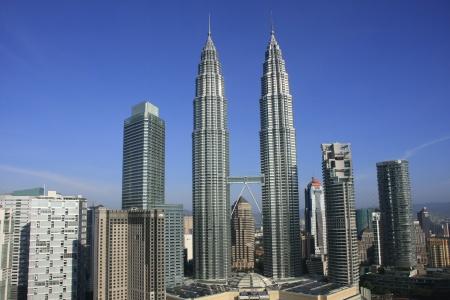 Petronas Twin Towers, Kuala Lumpur, Maleisië Redactioneel