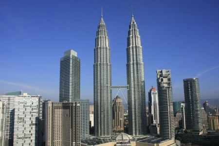 petronas: Torres Petronas, Kuala Lumpur, Malasia