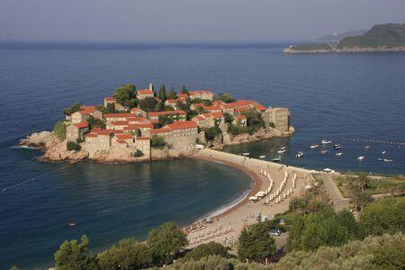 sveti: Sveti Stefan island, Montenegro, Balkans
