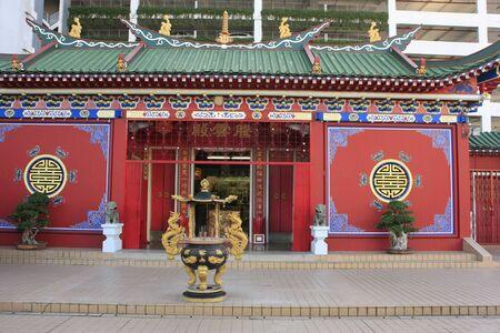 Chinese buddhist temple, Bandar Seri Begawan, Brunei, Southeast Asia