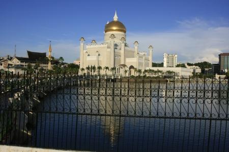 omar: Sultan Omar Ali Saifudding Mosque, Bandar Seri Begawan, Brunei, Southeast Asia