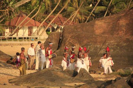 Wedding on a beach, Sri Lanka