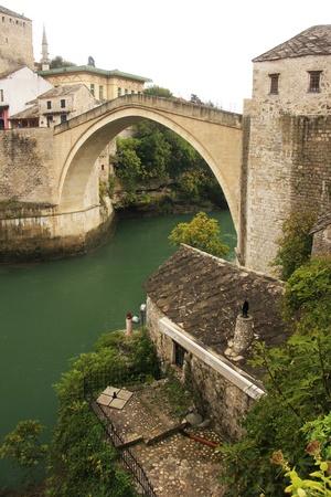 mostar: Stari Most, Mostar, Bosnia and Hercegovina, Balkans Editorial
