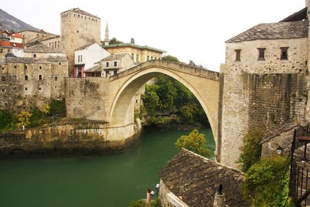 hercegovina: Stari Most, Mostar, Bosnia and Hercegovina, Balkans Editorial