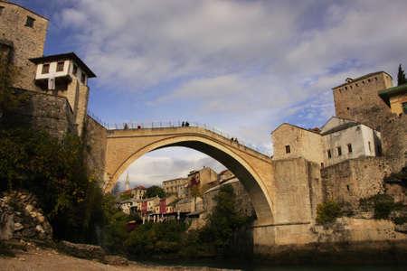 hercegovina: Stari Most, Mostar, Bosnia and Hercegovina Editorial