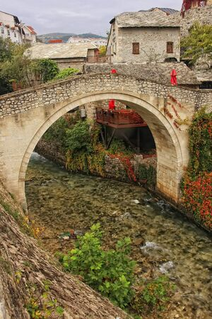Crooked Bridge, Mostar, Bosnia and Herzegovina