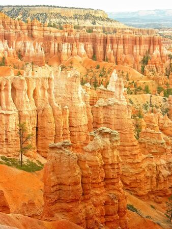 Amphitheater, view from Sunset point, Bryce Canyon National Park, Utah, USA photo