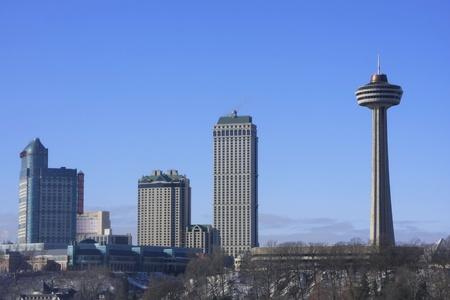 Skyline of Niagara Falls, Ontario, Canada