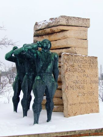 Monumental Sculptures, Momento Park, Budapest, Hungary Stock Photo - 17555042