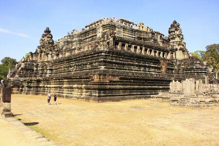 Baphuon temple, Angkor Thom, Siem Reap, Cambodia photo
