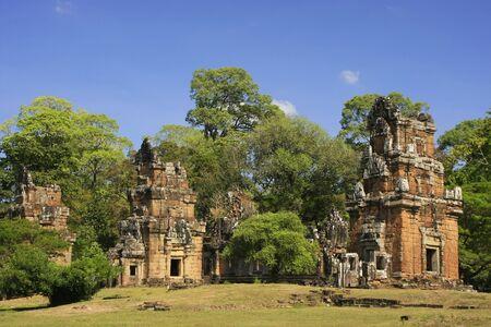 Prasats Suor Prat, Angkor Thom, Angkor area, Siem Reap, Cambodia Stock Photo - 17971502