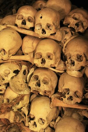 Killing caves of Phnom Sampeau, Battambang, Cambodia, Southeast Asia