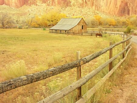Gifford Barn, Capitol Reef National Park, Utah, USA