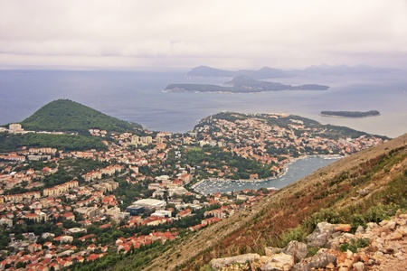 View of Dubrovnik, Croatia photo