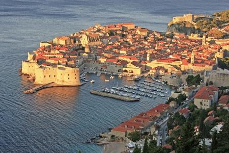 Old Harbour at Dubrovnik, Croatia