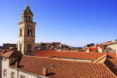 Old town of Dubrovnik, Croatia photo