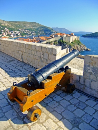 St. Lawrence Fortress, Dubrovnik, Croatia Stock Photo