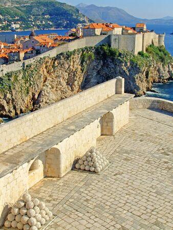 St. Lawrence Fortress, Dubrovnik, Croatia 写真素材