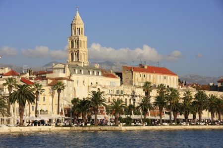 Diocletians Palace, Split waterfront, Croatia