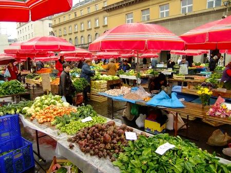 zagreb: Dolac Market, Zagreb, Croatia