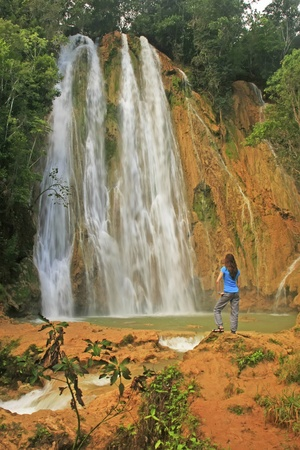 limon: El Limon waterfall, Dominican Republic