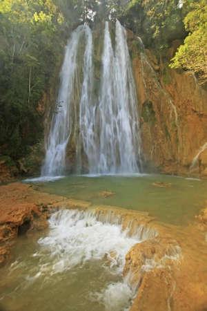 El Limon waterfall, Dominican Republic photo