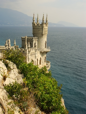 Swallow s nest castle, Crimea, Ukraine