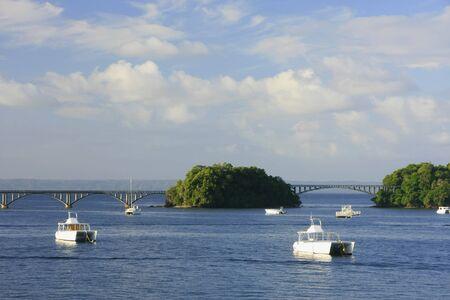 Samana bay, Dominican Republic Banco de Imagens
