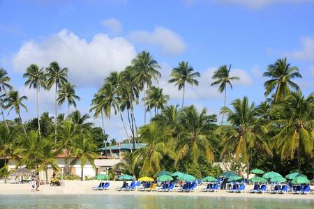 chica: Boca Chica beach, Dominican Republic Editorial