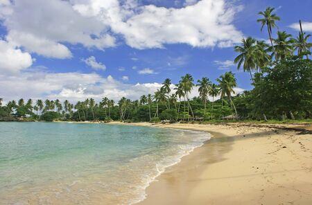 Rincon beach, Samana peninsula, Dominican Republic