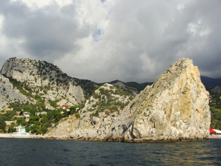 Rock Diva, Simeiz, Crimea peninsula, Ukraine photo