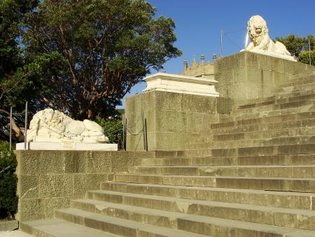 voroncov: Lion terrace, Vorontsov palace, Alupka, Crimea, Ukraine